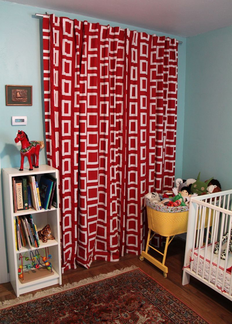 Outside window treatment ideas  nursery tour  closet ideas  pinterest  closet curtains room and