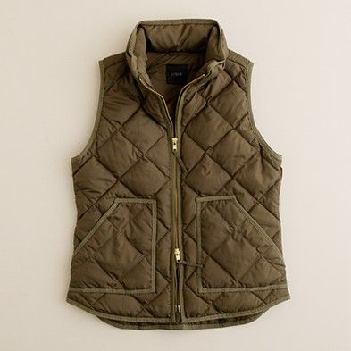 Quilted Vest...the perfect winter layer
