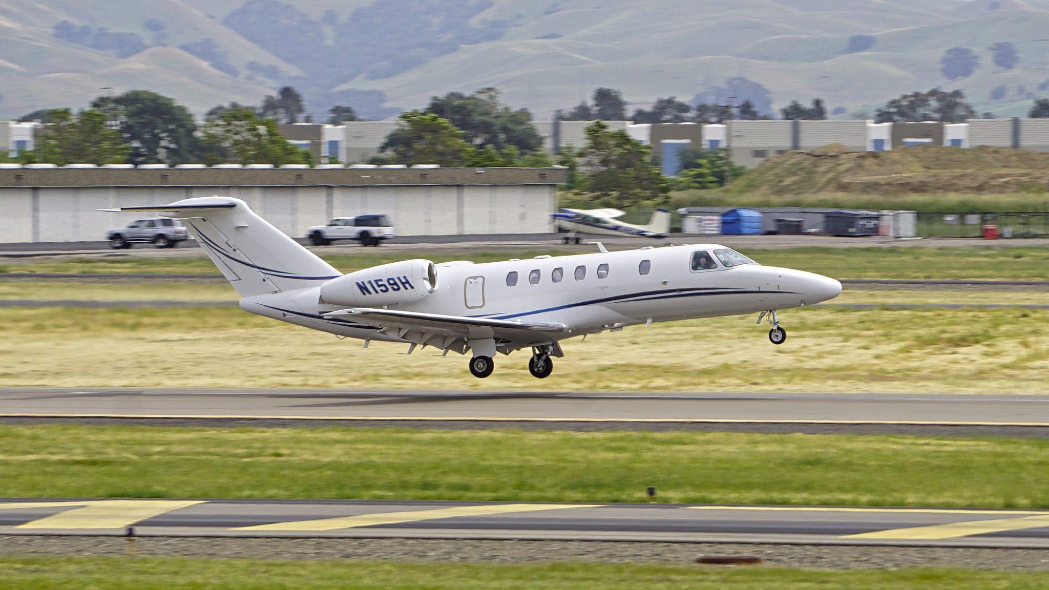 Cessna 525c Citation Cj4 N159h Livermore Airport California