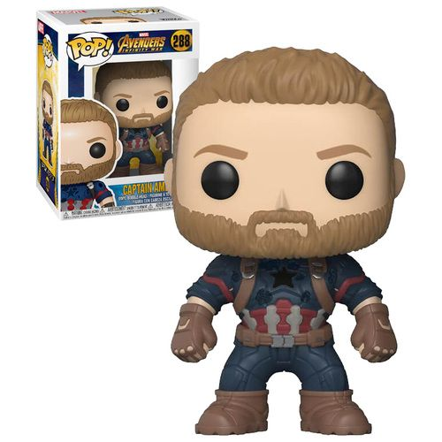 Funko Pop Marvel Avengers Infinity War 288 Captain America 2018