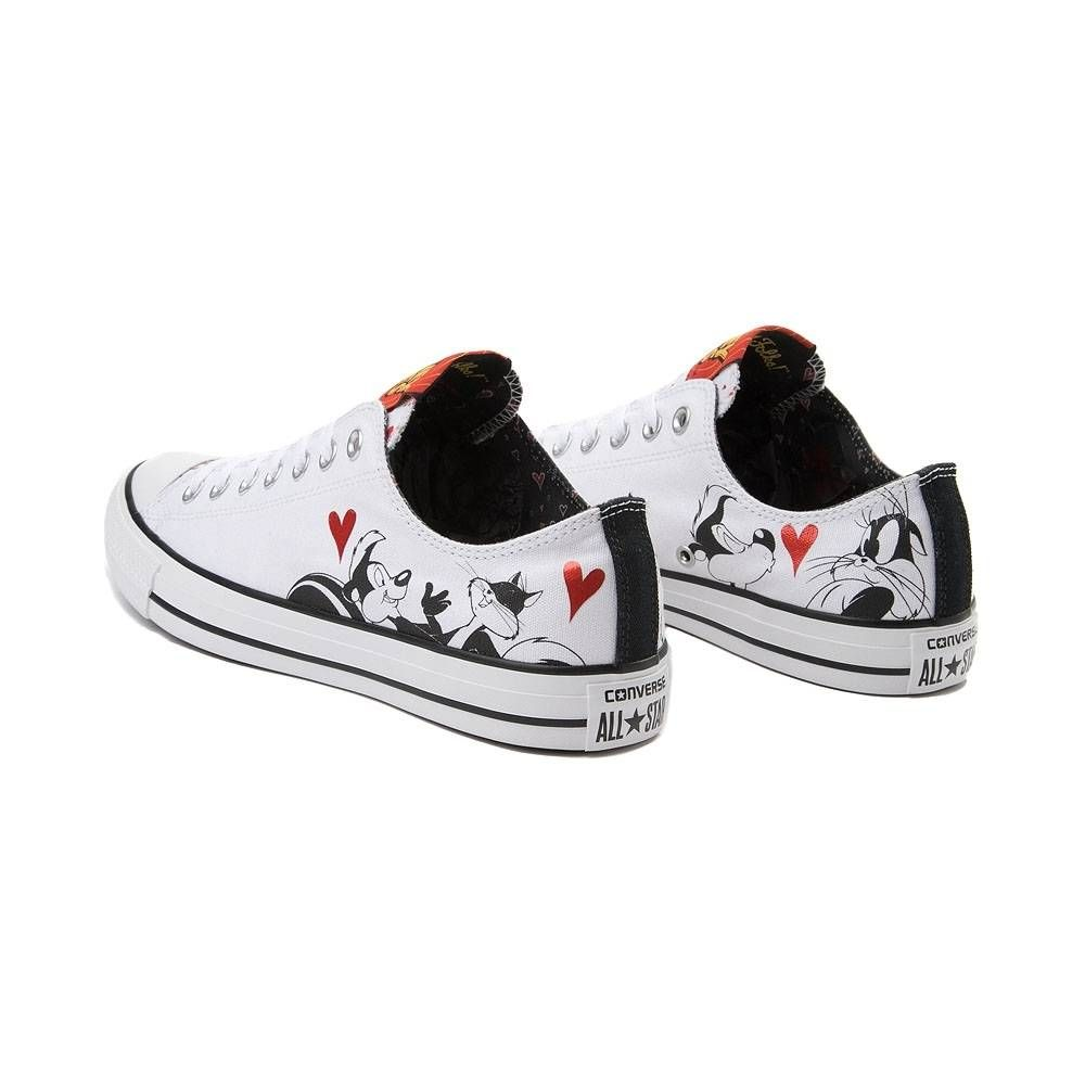 9c97d0328876 Converse Chuck Taylor All Star Lo Looney Tunes Pepe Le Pew Sneaker - White  - 399527