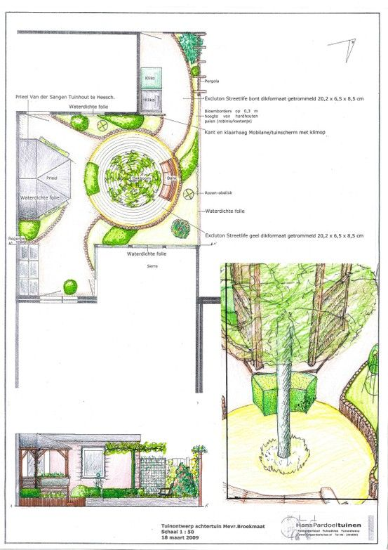 Small curved patiogardendesign.