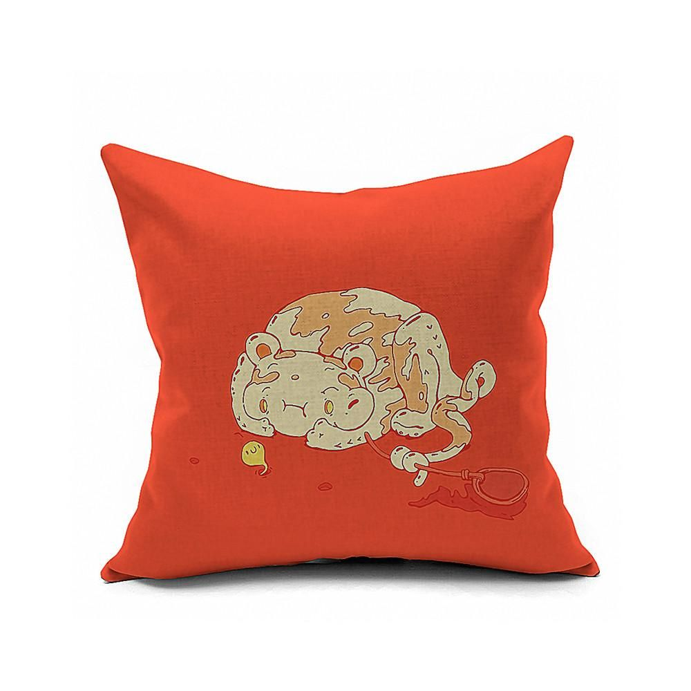 Cotton Flax Pillow Cushion Cover Comprehensive    BZ160 - 6PS