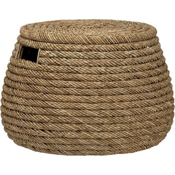 Baskets: Wicker, Wire, Woven And Rattan. Barrel RollCrate And BarrelWoven  Storage ...