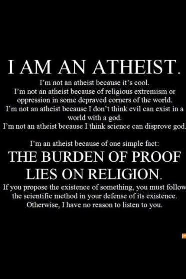 This is me and how i feel..No gods,no masters,no fairy tales..Just Me-Atheist!!