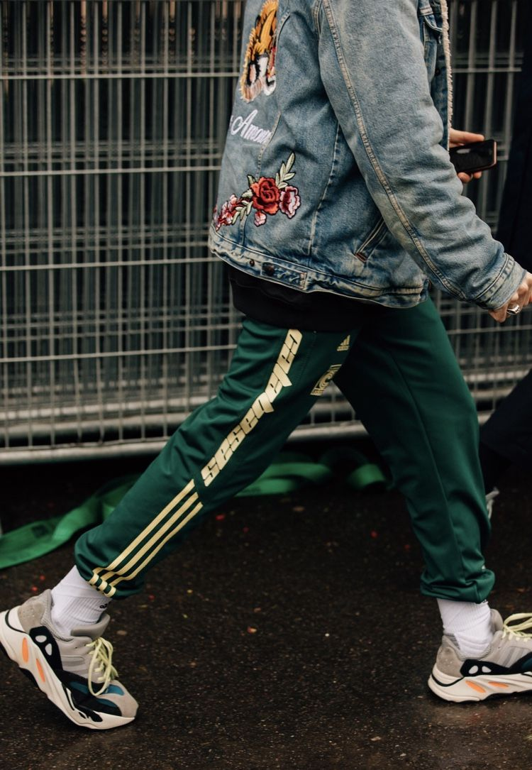 detailed look 49713 800f4 Yeezy Calabasas spotted in Paris for Fashion Week 2018