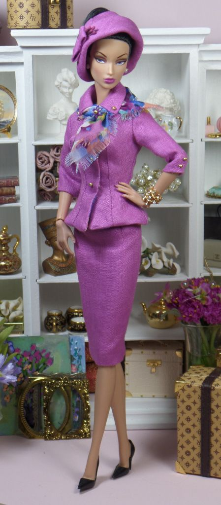 Victoire Roux la Grande Seduction | modeling Orchid Affinity by Matisse Fashions