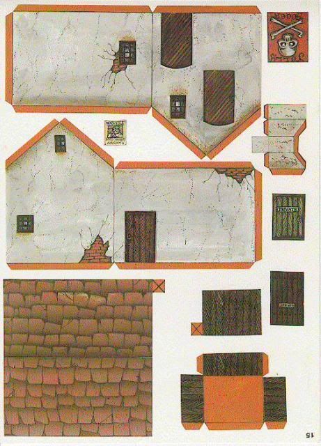 Free Scale Paper House Papermau: Pin By Christopher Groeber On Building