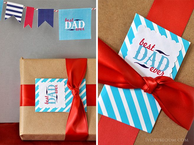 Ivory Bloom's Father's Day Printables