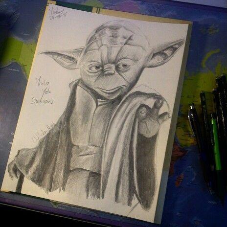 Dessin Star Wars Maitre Yoda Dessins Pinterest Dessin Dessin