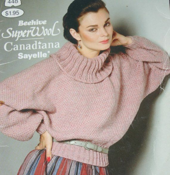 372e4150fed0 Sweater Knitting Patterns That Special Look Beehive Patons 448 Cardigan Hat  Vest Men Women Vintage Paper Original NOT a PDF