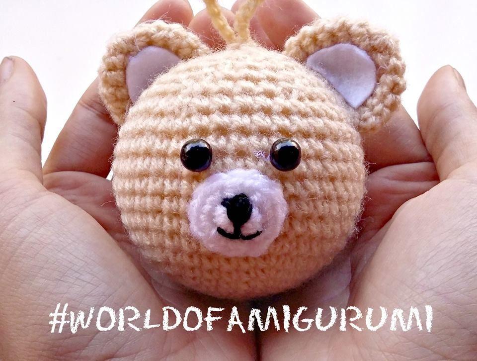 Ursinho Amigurumi - Receita | Bichinhos de croche, Urso de crochê ... | 726x960