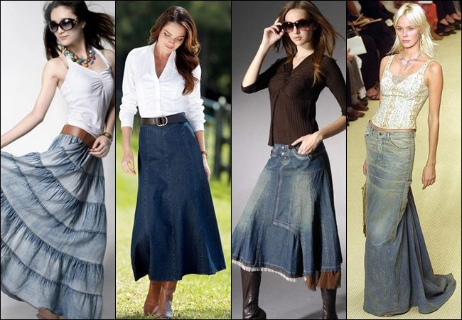 Latest Long Skirt Fashion