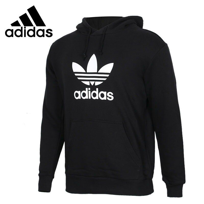 Original New Arrival 2018 Adidas Originals TREFOIL HOODIE Men's Pullover Hoodies Sportswear , #men #...