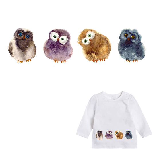 Animals Pets Chick Patch Iron On Heat Transfer  Applique for DIY Craft