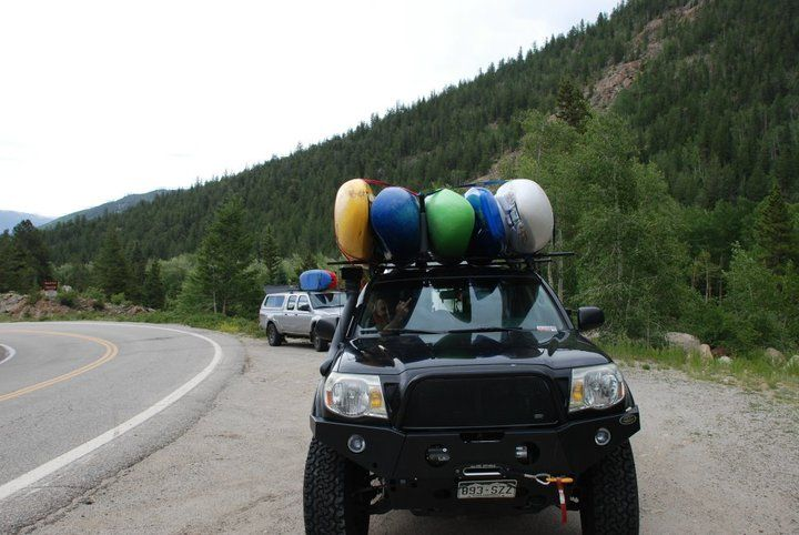 This Is The Roof Rack We Need X2 Kayaking Kayak