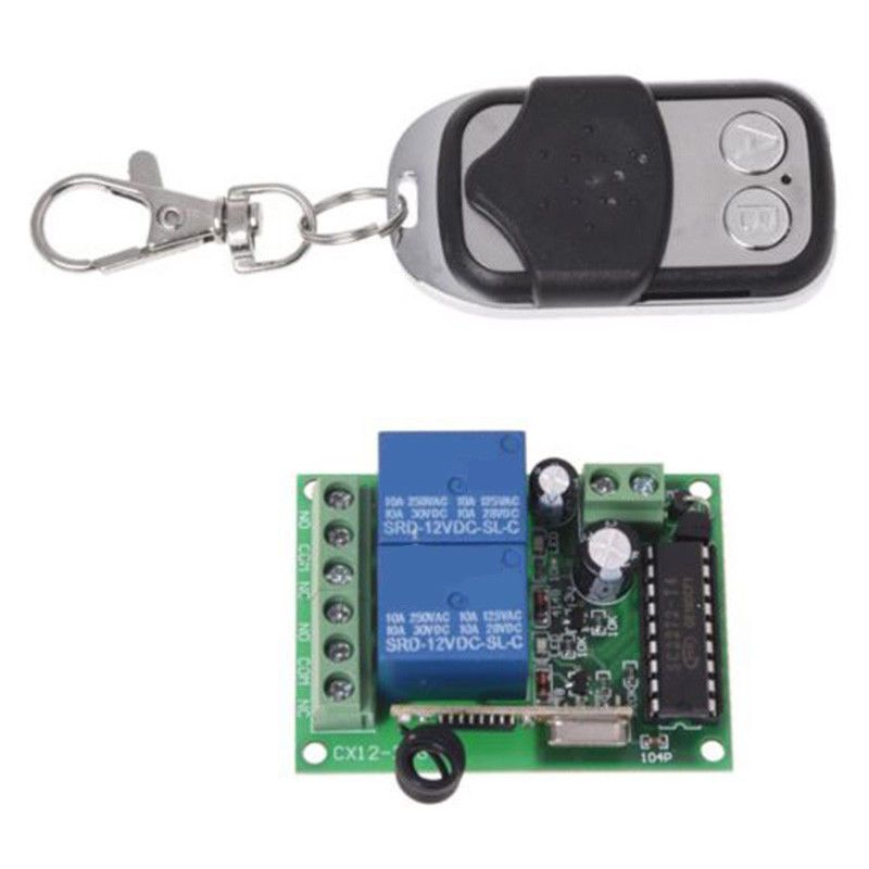Dc 12v 433 92mhz Universal Gate Garage Opener Remote Control Transmitter Set D Universal Garage Door Remote Garage Door Opener Remote Remote Control Gate