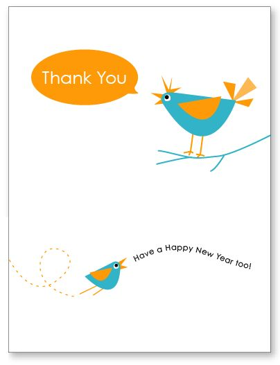 happy new year thank you free printable card by amy at livinglocurtocom