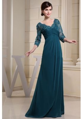 teal mother of the bride dresses - Google Search  Mom of the ...