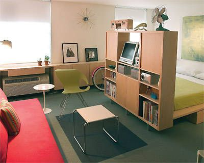 Brilliant Solutions for Extremely Small Spaces | Pinterest | Divider ...