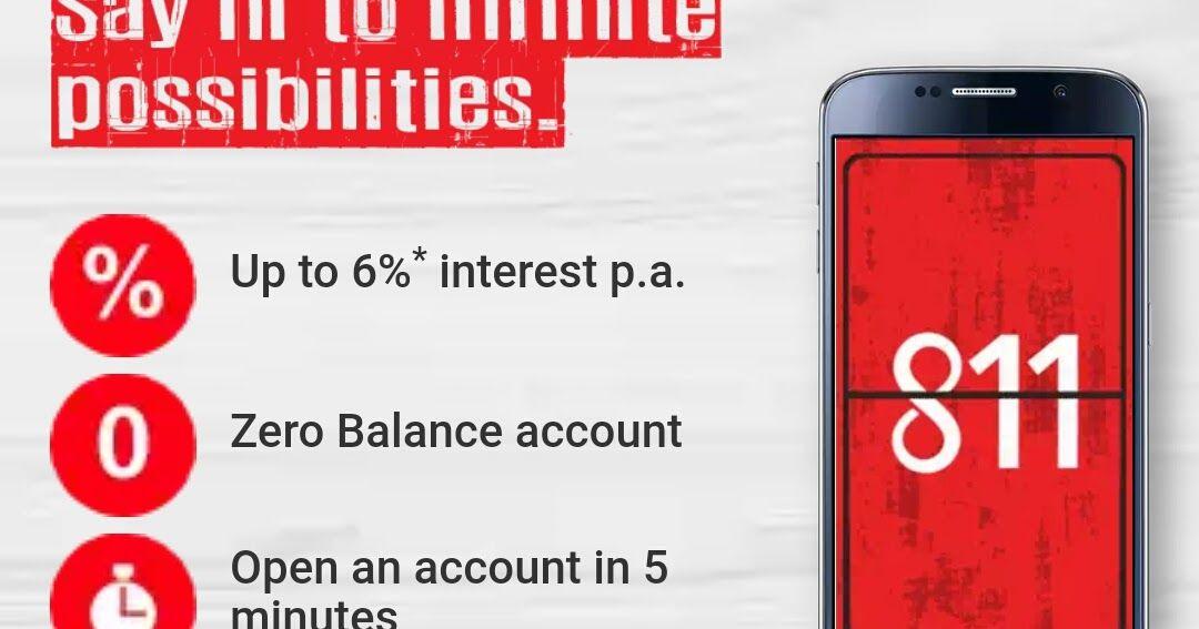 Open kotak 811 bank account using aadhaar card in 5