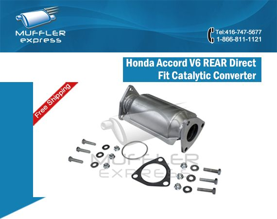 In The Market For Honda Accord V6 REAR Direct Fit Catalytic Converter