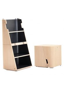 Cerruti Baleri Scalo Modern Stool and Step Ladder