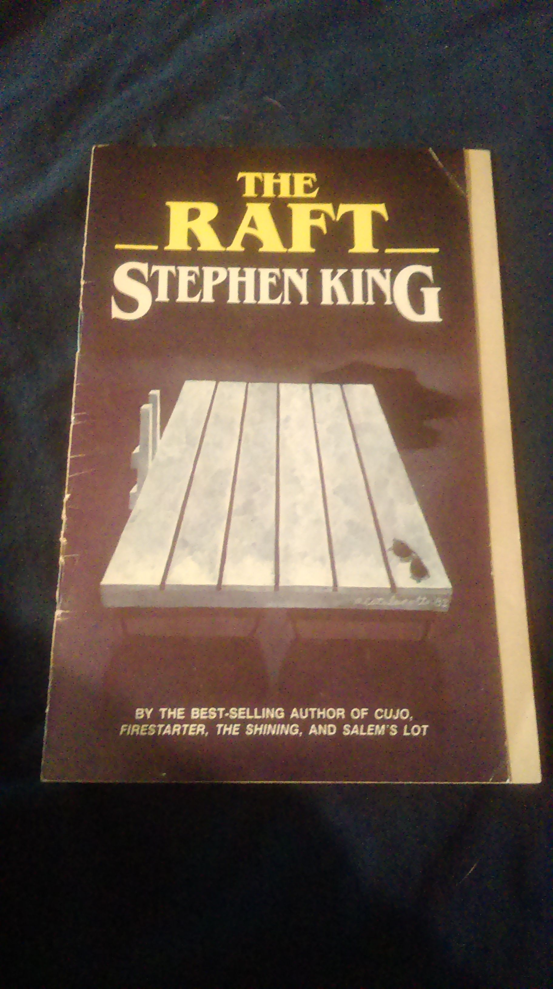 Pin By Gwendolyn Rose On Rare Hard To Find Books Stephen Kings THE RAFT As A Stand Alone Soft Cover Book