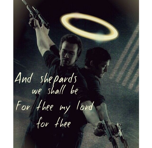 Sean Patrick Flanery and Norman Reedus as the Boondock Saints. And Saints they be.
