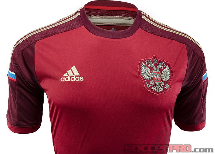 2014 adidas Russia World Cup Home Jersey...Free Shipping...Available at SoccerPro right now!