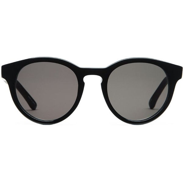 66cb6fadec12 The Row x Linda Farrow Large Round Sunglasses ( 442) found on Polyvore