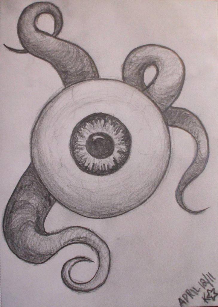 eyeball sketch  oc  in 2020