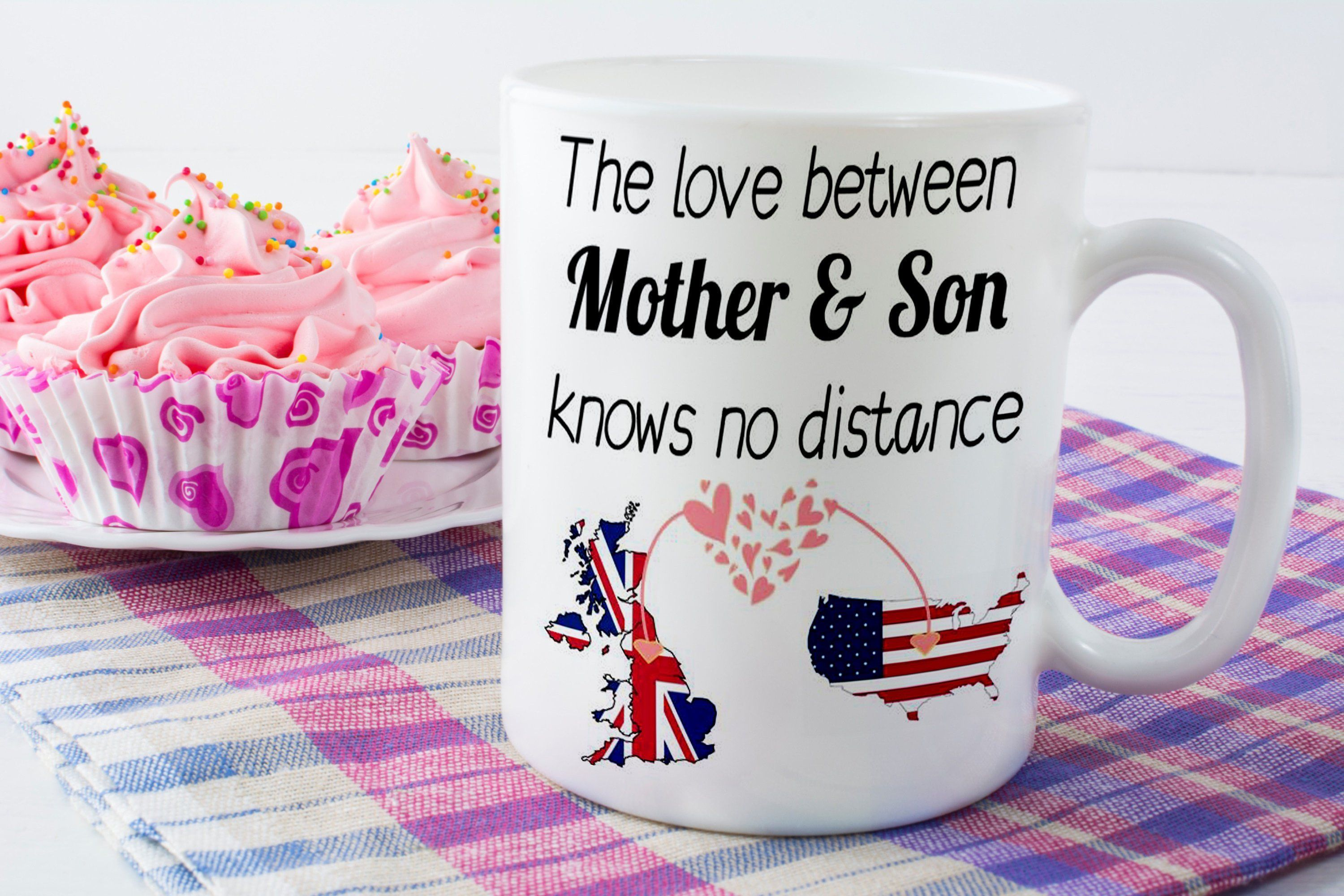 Long distance gift mother daughter mother and son