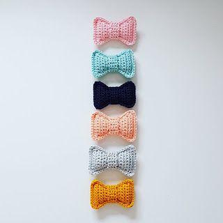 Handmade by J: Gratis patroon voor een strikje! #haken