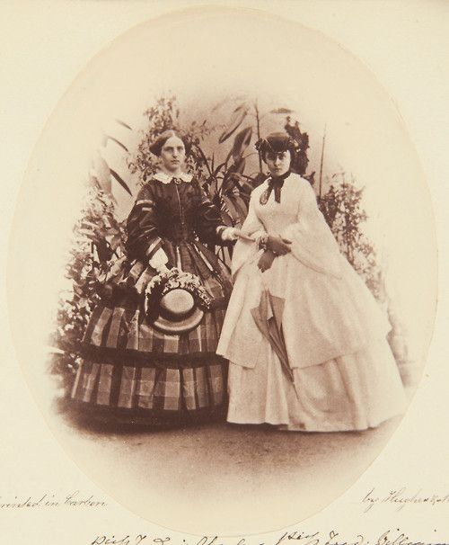 Victoria, Princess Frederick William of Prussia, and Marie, Princess Frederick Charles of Prussia (1859)