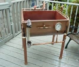 Image Result For Steam Punk Kitchen With Images Steampunk Kitchen Recycled Metal Sink