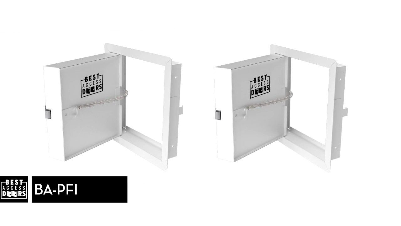 The Ba Pfi Fire Rated Access Door Is Insulated With 2 Thick Mineral Wool And Can Be Used On Fire Rated Walls And Ceiling Locker Storage Mineral Wool Insulated