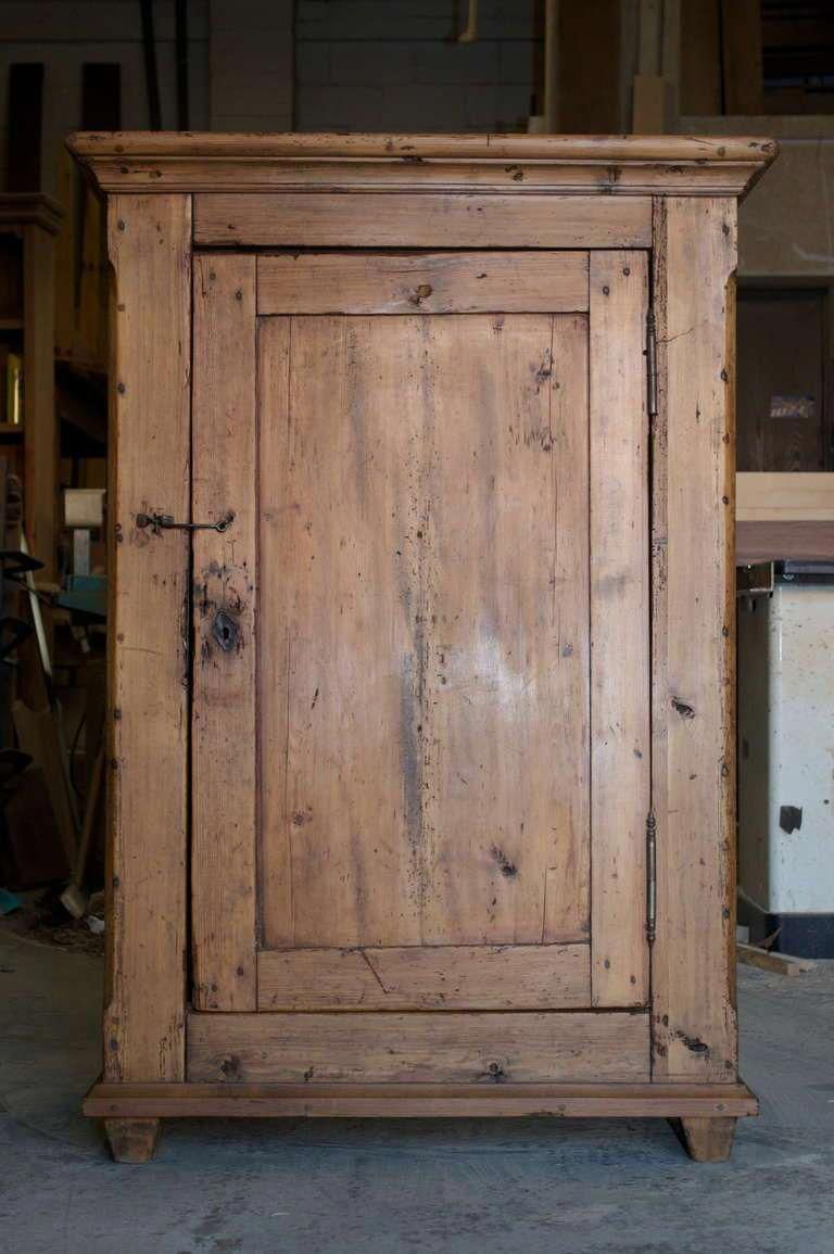 For Sale On 1stdibs Charming Rustic Cupboard In Pine Circa 1850 Shelves Are Included Upon Request R In 2020 Rustic Cabinets Antique Cupboard Rustic Furniture Diy