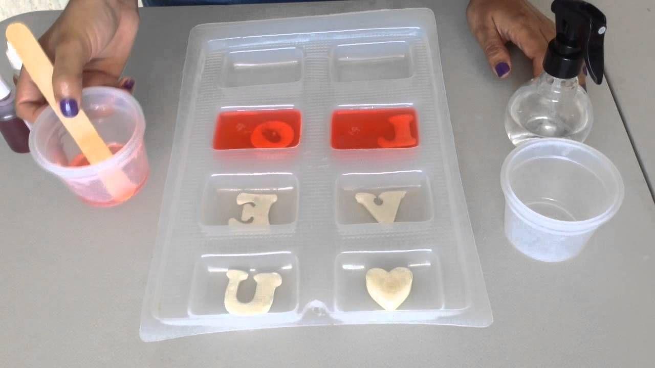 Tutorial jabones de glicerina t cnica encapsulado - Como hacer esencias para jabones ...