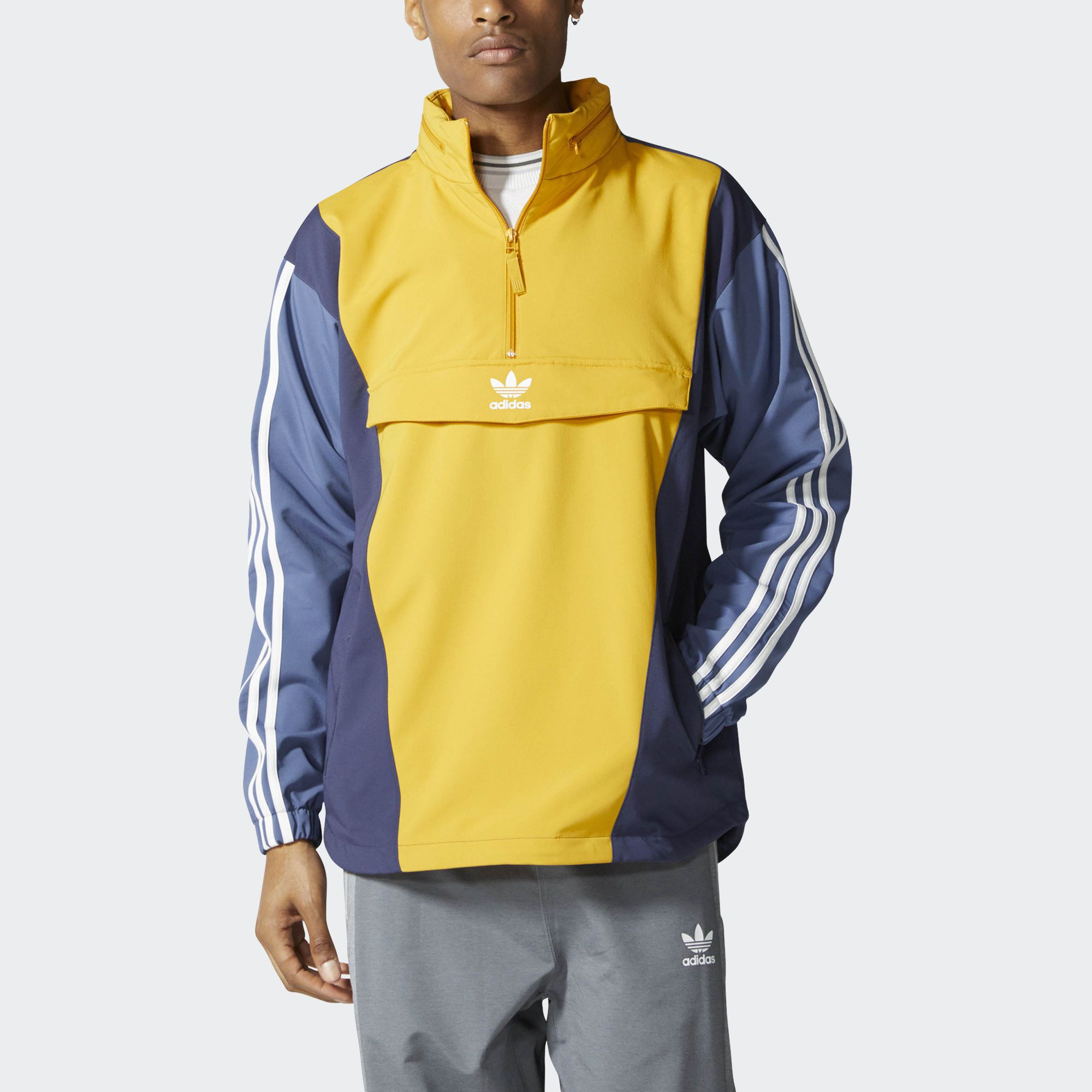 baf7912f Ветровка BLOCKED ANORAK adidas Originals | Куртки | Ветровка, Куртка