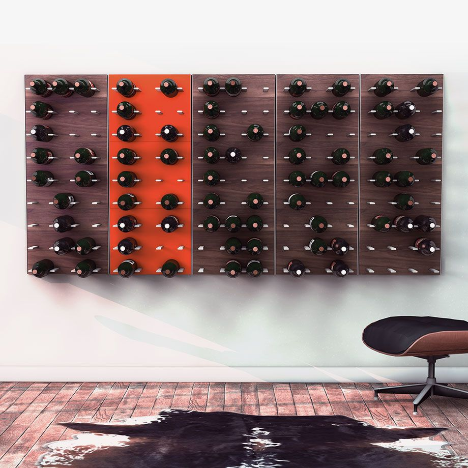 Monoqi Weinregale Fur Geschmackvolle Wande Modular Wine Storage Modular Wine Racks Wine Rack