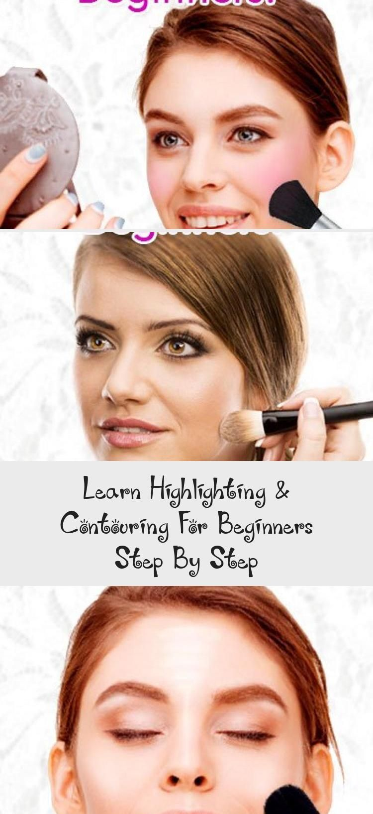 Photo of Learn Highlighting & Contouring For Beginners Step By Step… – Beauty –  Highli…
