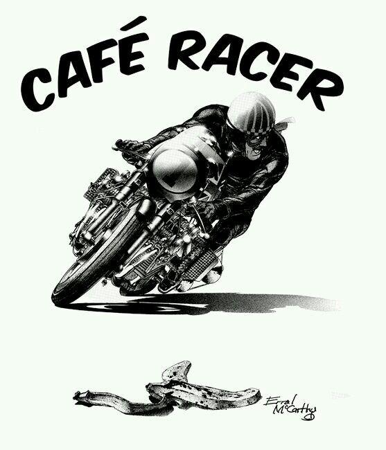 Cafe Racer Art Vintage Cafe Racer Triumph Cafe Racer Cafe Racer