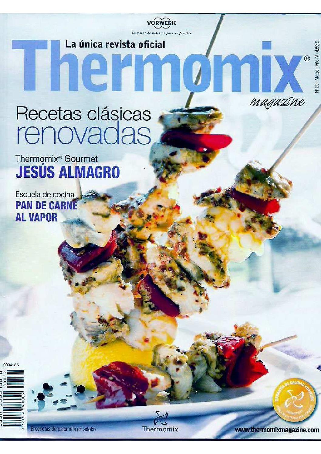 Revista Thermomix Nº29 Recetas Clásicas Renovadas Recetas