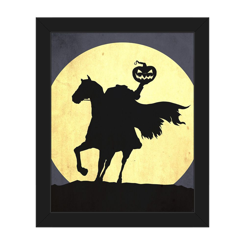 Decorate for Halloween with this canvas wall art featuring the ...