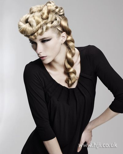 Jumbo plaits    Hairstyle by: Kay McIntyre  Salon: McIntyre's  Location: Dundee