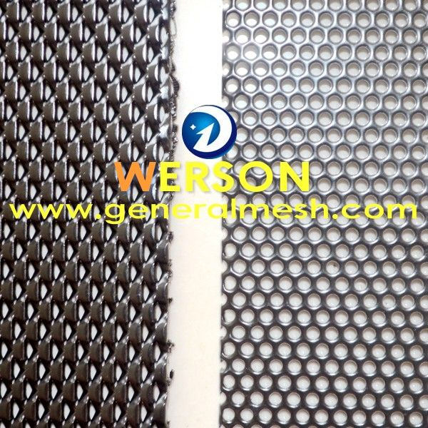 1 80mm One Way Vision Mesh Vs Perforated Mesh E Mail Sales Generalmesh Com Mesh Security Screen Visions