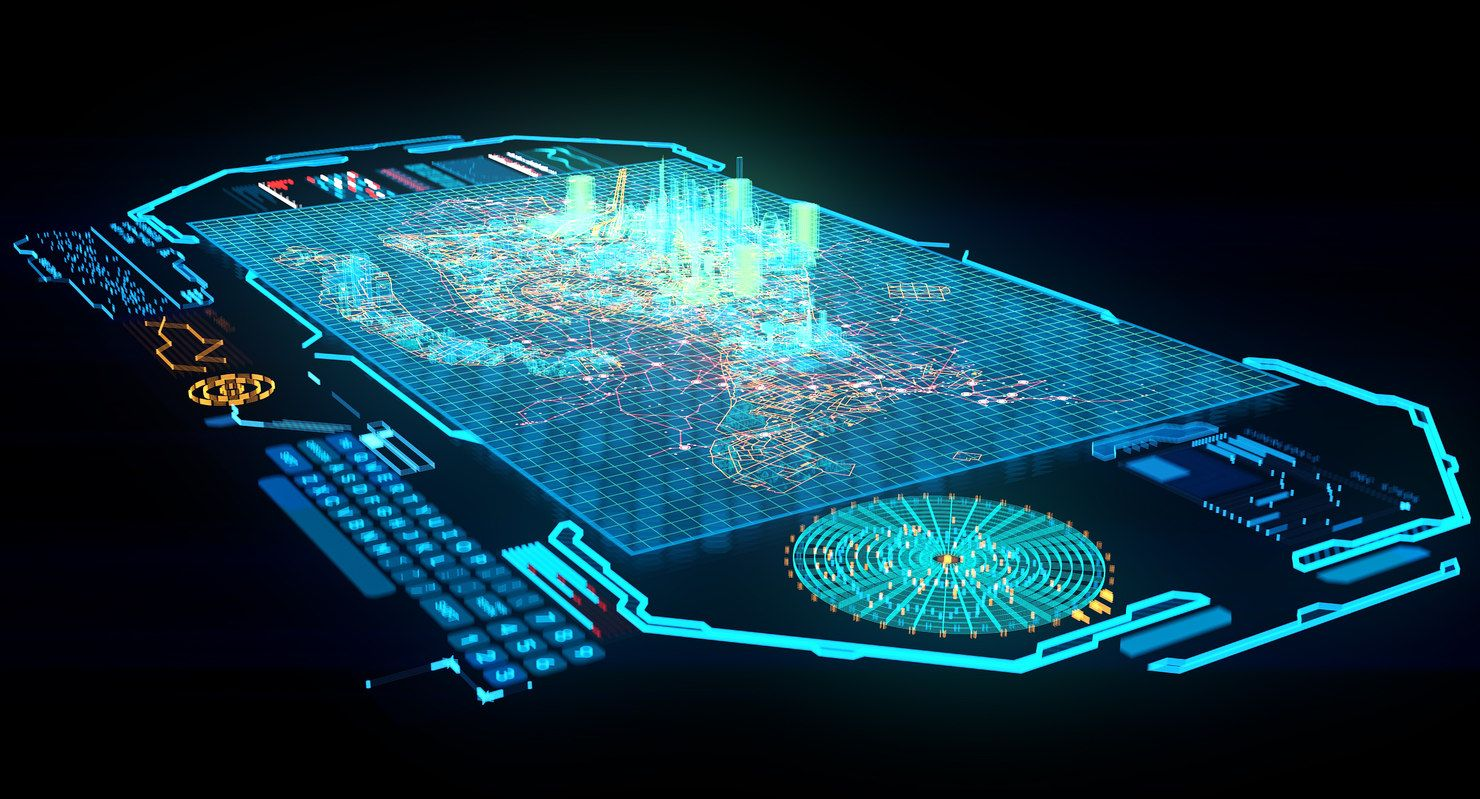 Hologram City Max Hologram Technology Futuristic Technology New Technology Gadgets