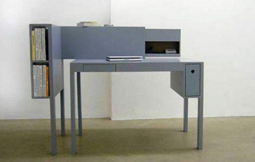 42 ausgefallene schreibtische für ihr büro - schreibtische büro ... - Buro Mobel Praktisch Organisieren Platz Sparen