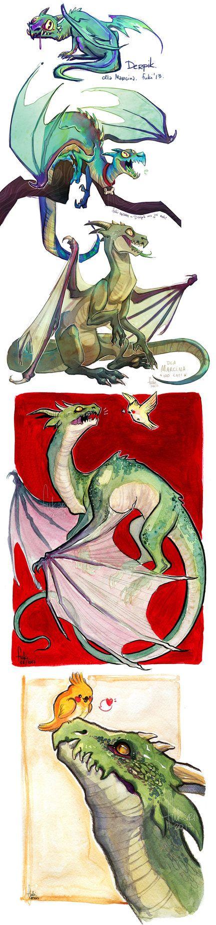 Derpik the dragon by Fukari.deviantart.com on @DeviantArt   Fukari ...